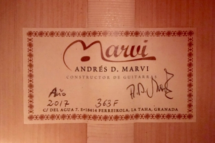 Marvi II label
